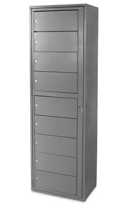 Folded Uniform Lockers